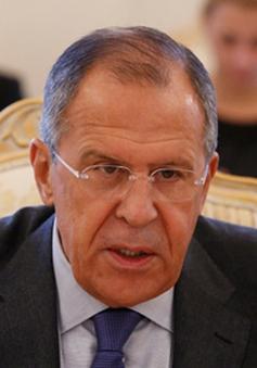 Ngoại trưởng Sergei Lavrov: Nga phản đối áp dụng những biện pháp đối đầu