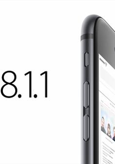 """Bản """"vá lỗi"""" iOS 8.1.1 liên tục... """"mắc lỗi"""""""