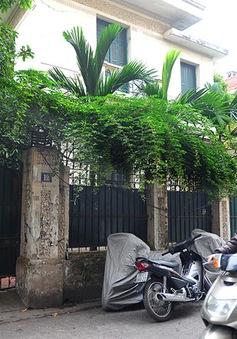 Cựu Chủ tịch UBND TP Hà Nội trả lại biệt thự 12 Nguyễn Chế Nghĩa