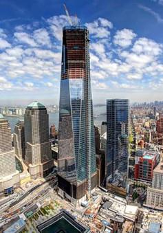 Năm 2015, khánh thành tháp WTC One sau sự kiện 11/9