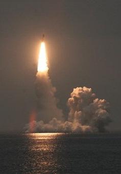 Nga phóng thành công tên lửa Bulava