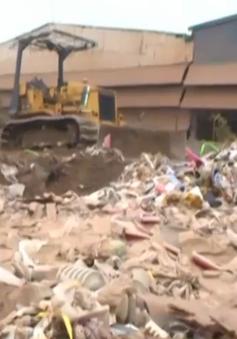 Hải Dương: Chôn lấp rác thải khối lượng lớn