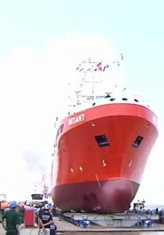 Hạ thủy tàu cứu hộ tàu ngầm đóng cho Hải quân Australia