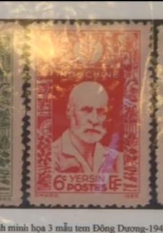 Giới thiệu bộ sưu tập tem về bác sĩ A.Yersin