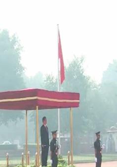 Lễ đón Thủ tướng Nguyễn Tấn Dũng thăm chính thức Ấn Độ