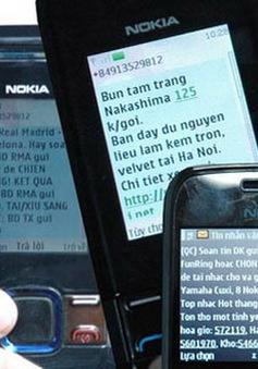 """""""DN viễn thông phải tăng cường giám sát tin nhắn rác"""""""