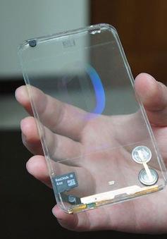 """Smartphone """"trong suốt"""" đầu tiên trên thế giới lộ diện?"""