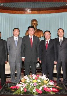 Đoàn Đảng Cộng sản Trung Quốc thăm và làm việc tại Việt Nam
