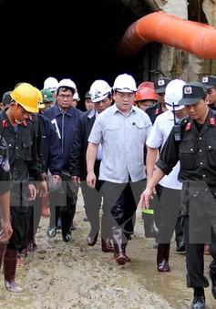 Phó Thủ tướng sốt ruột tiến độ cứu hộ vụ sập hầm thủy điện