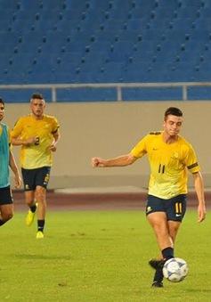U19 Australia đầy quyết tâm đánh bại U19 Việt Nam
