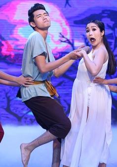 """Bước nhảy hoàn vũ nhí: Sởn gai ốc với """"gia đình ma"""" Ốc Thanh Vân"""