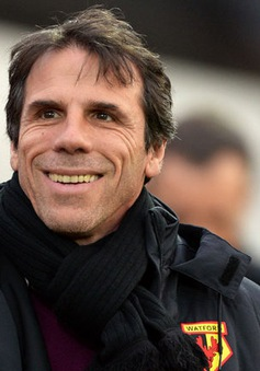Huyền thoại Zola trở lại Serie A làm HLV