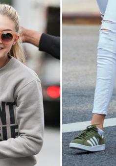 Gigi Hadid - siêu mẫu 'nghiện' giày thể thao