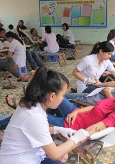 Hôm nay (7/4), Ngày toàn dân hiến máu tình nguyện