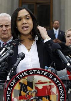 Tòa án Mỹ khởi tố 6 cảnh sát trong vụ trong vụ người da màu chết tại Baltimore