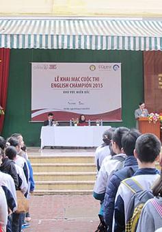 Gần 16.000 thí sinh tham dự cuộc thi tiếng Anh - English Champion 2015