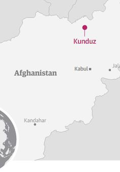 Quân đội Afghanistan phản công Taliban tại Kunduz