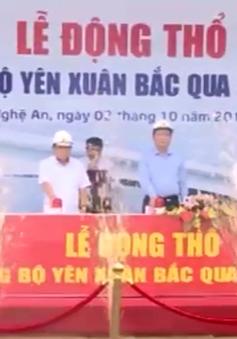 Khởi công xây dựng Cầu Yên Xuân, xóa cắt cứ đôi bờ sông Lam