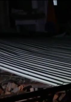 Sập nhà, 1 người thiệt mạng tại TP.HCM