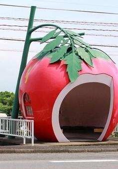 Những trạm xe bus hình trái cây dễ thương ở Nhật Bản