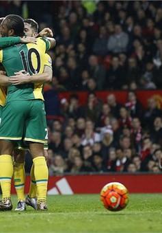 Sau 11 năm, Norwich đã đánh bại Manchester United tại Old Trafford