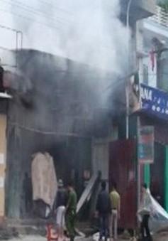 Yên Bái: Cháy cây xăng, 1 người bị bỏng