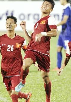 Trút mưa bàn thắng vào lưới Thái Lan, U21 Việt Nam đoạt vé vào bán kết