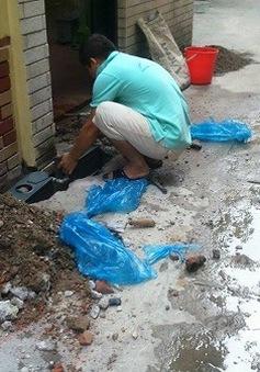 Người dân được miễn toàn bộ phí đưa đồng hồ nước ra khỏi nhà