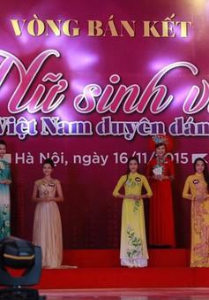 BK Nữ sinh viên Việt Nam duyên dáng 2015: Muôn hoa khoe sắc
