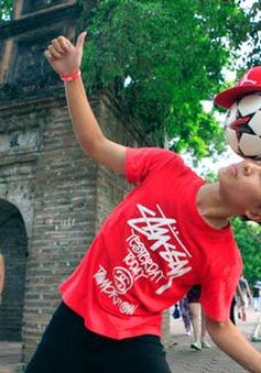 Mãn nhãn với nhà vô địch tâng bóng nghệ thuật châu Á
