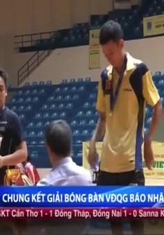 Đinh Quang Linh, Mỹ Trang đăng quang Giải Bóng bàn VĐQG