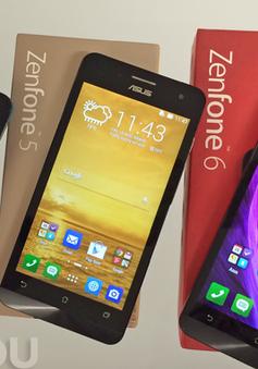 """ASUS ZenFone 4, 5 và 6 đồng loạt """"lên đời"""" Android 5.0"""