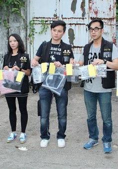 Cảnh sát Hong Kong bắt giữ 10 nghi can âm mưu chế tạo bom