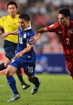 ĐT Thái Lan may mắn thắng Hong Kong nhờ trọng tài Việt Nam