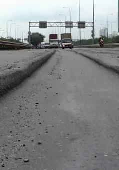 TP. HCM: Sụt lún tại đại lộ Mai Chí Thọ cơ bản được khắc phục