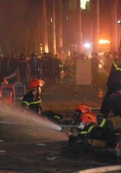 Những chiến sĩ quả cảm trong vụ cháy tại KĐT Xa La