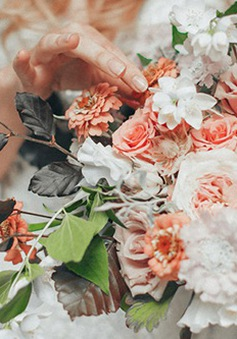 10 kiểu hoa cưới được yêu thích nhất năm 2015