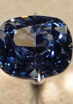 Viên kim cương xanh cực quý hiếm có thể bán với giá 55 triệu USD