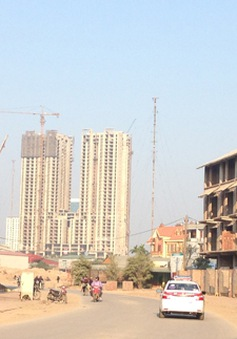 Giá chung cư bị đẩy bằng giá đất nền