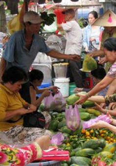 TP. HCM: Sức mua tại các chợ truyền thống giảm mạnh ngày giáp Tết