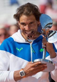 Vô địch Hamburg Open, Nadal đáp trả những nghi ngờ về phong độ