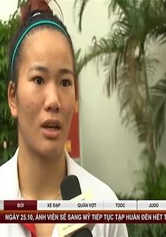 Nữ võ sĩ Lừu Thị Duyên mơ ước giành vé dự Olympic Rio 2016