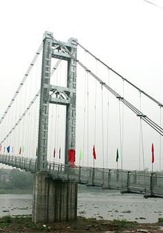 Hoàn thành xây dựng 187 cầu treo dân sinh giai đoạn 1