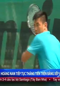 Lý Hoàng Nam tăng bậc ATP