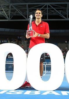 Federer vô địch Brisbane 2015: Chiến thắng thứ 1000 cho Fedex