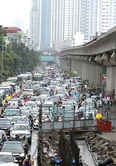 Hà Nội: Không có công trình giao thông bị rút giấy phép thi công