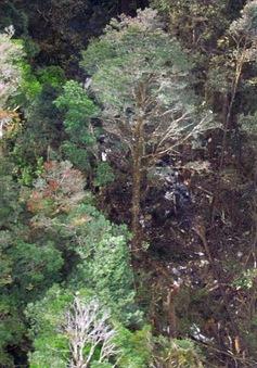 Tiếp cận khu vực có mảnh vỡ của máy bay Indonesia gặp nạn