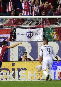 Suýt thua ở derby Madrid, Real lỡ cơ hội vượt mặt Barcelona