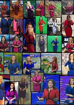 BTV thời tiết Mỹ đổ xô mua chiếc váy 'thần thánh' khi lên sóng