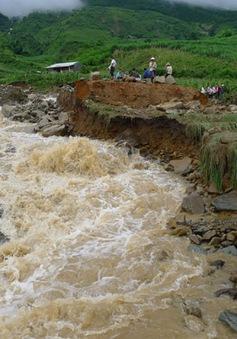 Lũ quét tại Lâm Đồng, 1 người bị cuốn trôi